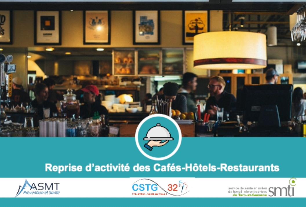 COVID-19 : Webinaire Reprise des Cafés-Restaurants-Hôtels